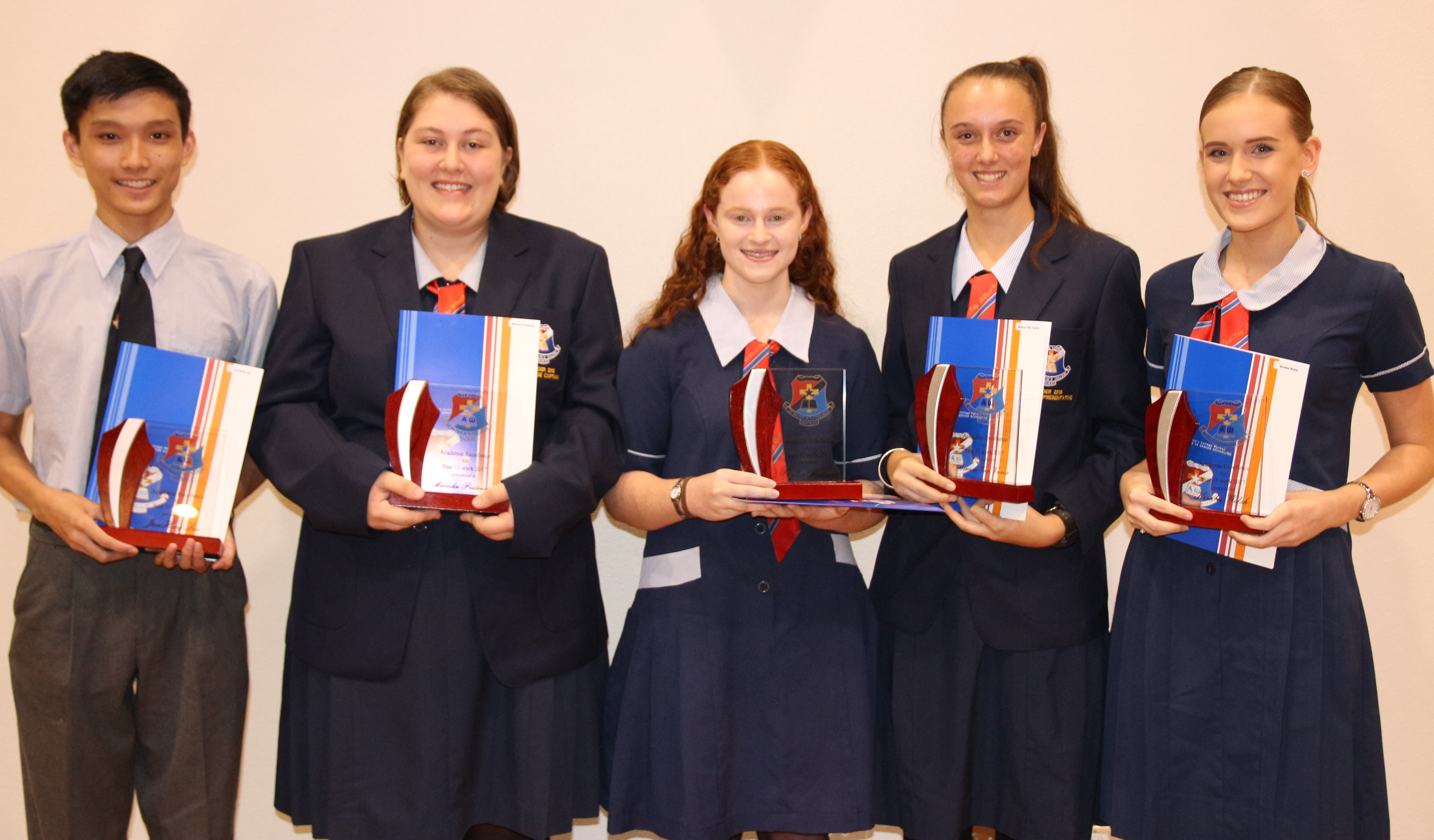 St Patrick's College Awards Night Year 11's from 2017